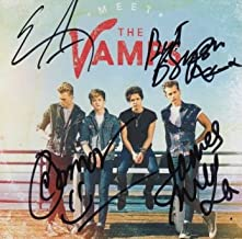 The Vamps (Connor Ball, Tristan Evans, James McVey and Brad Simpson) signed CD