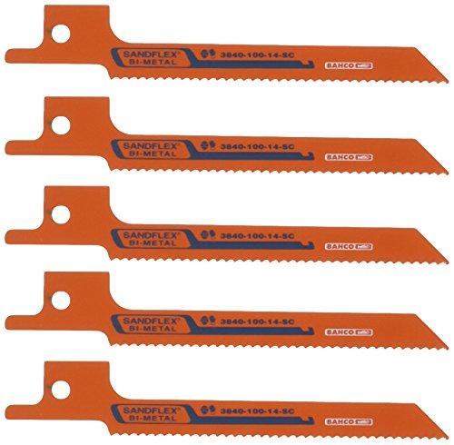 Bahco 3840-100-14-SC-5P - Sabre Bimetal 14 Sc 100Mm 5P
