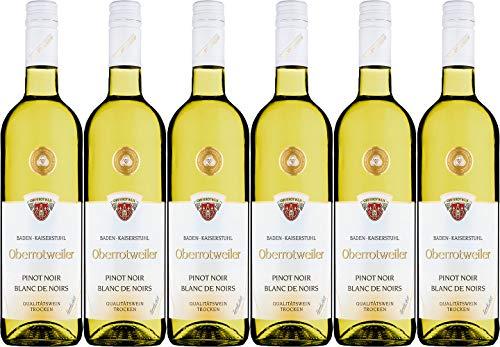 Kaiserstühler Winzerverein Oberrotweil Oberrotweiler Pinot Noir Blanc de Noirs 2020 Trocken (6 x 0.75 l)
