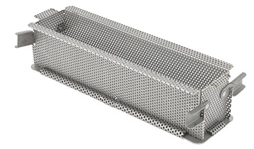 De Buyer 3210.24 bakvorm, roestvrij staal, grijs, 24 x 5 x 6 cm