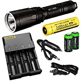 Nitecore SRT7 Revenger (Black) 960 Lumens LED Built-in Red,...