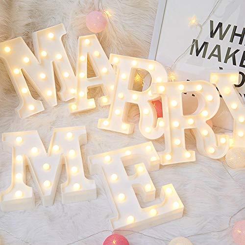 Lámpara de noche LED 3D 26 Letra 0 9 Letrero de marquesina digital Luz del alfabeto Lámpara colgante de pared Decoración interior Fiesta de bodas Luz de noche LED