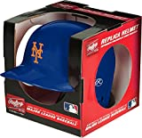 Rawlings MLB New York Mets Mini Replica Helmet, Blue