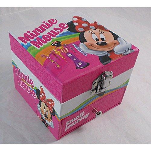 Joyero con espejo de Minnie Mouse