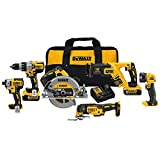 DEWALT 20V MAX XR Brushless Combo Kit, Premium...