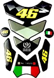 Traditions Rossi VR46 Racing Tank Sticker/Tank Pad