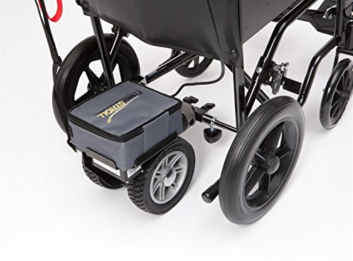 Drive Lightweight Dual Wheel PowerStroll with Reverse to Convert Manual to Electric Wheelch