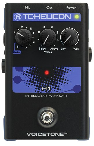 TC Electronics Singles VoiceTone H1 Vocal Effects Processor