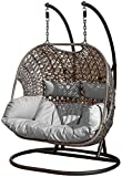 SunTime Brampton Luxury Rattan Hanging Egg Chair