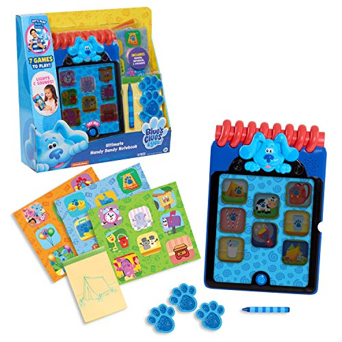 Blue's Clues & You! Ultimate Handy Dandy Notebook, Interactive Kids Toy with Lights and Sounds, Blue's Clues Game