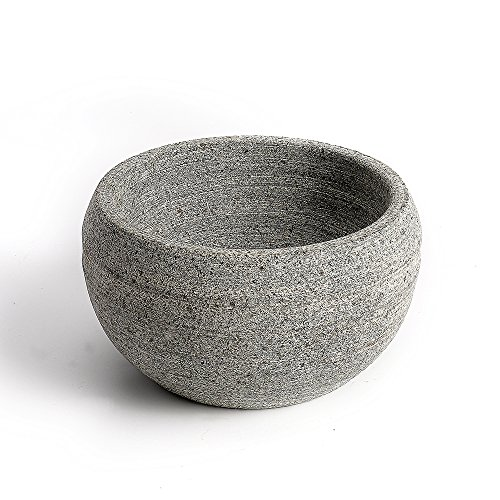 CHARMMAN Shaving Soap & Cream Bowl for Men, Natural Granite Stone, Keep Warm Better, Easier to Lather