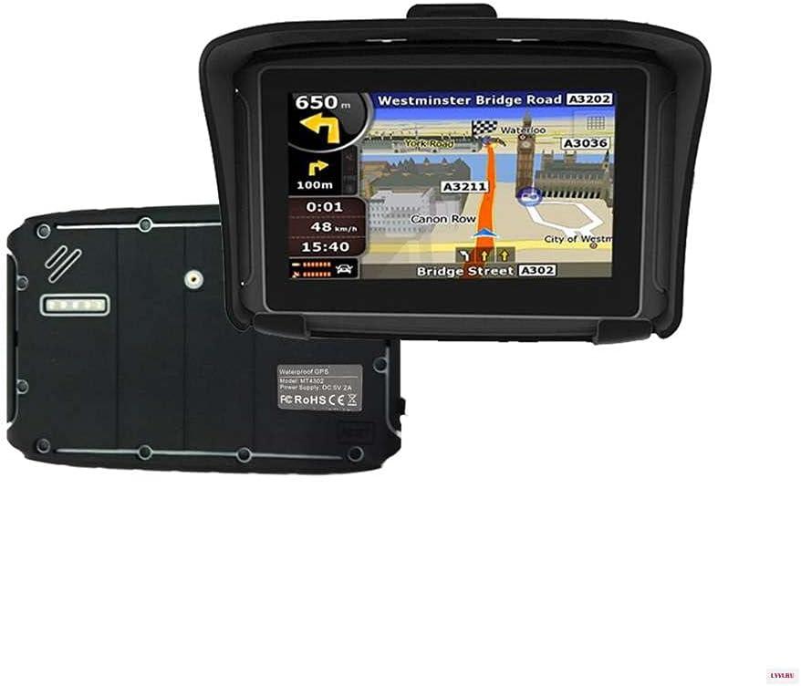 Thahamo 5 Inch Motorcycle GPS Navigation System GPS for Motorcycles GPS Motorcycle Vehicle GPS Units & Equipment