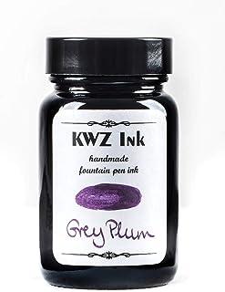 Grey Plum Handmade Fountain Pen Bottled Ink-60 ml