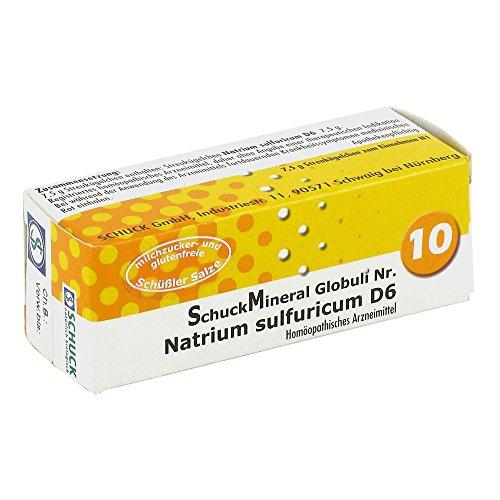 SCHUCKMINERAL Globuli 10 Natrium sulfuricum D6 7.5 g