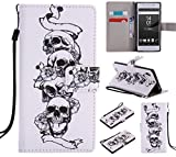 Ooboom® Sony Xperia Z5 Case PU Leather Flip Cover Wallet