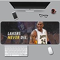 NBA神戸大型ゲームマウスパッド 拡張デスクマット 長さインチ 滑り止めゴムデスクパッド ゲーマー オフィス ホーム用-A2_300*800*3