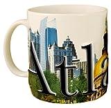 Americaware – Taza de café de cerámica de Recuerdo de la Ciudad de Atlanta – 18 oz