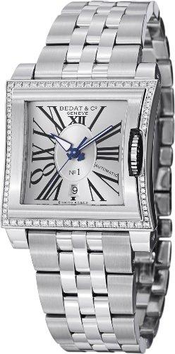 Bedat & Co Women's 34mm Steel Bracelet & Case Automatic Watch 118.021.101