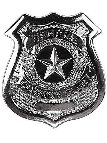 DISBACANAL Placa Metal policia