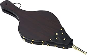 FECAMOS Soprador manual de lareira de madeira, soprador de ar manual, não precisa ser montado para acampamento ao ar livr...