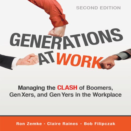 Generations at Work audiobook cover art