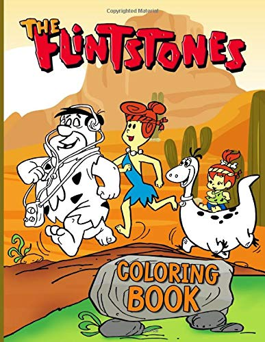 The Flintstones Coloring Book: The Flintstones Collection An Adult Coloring Book