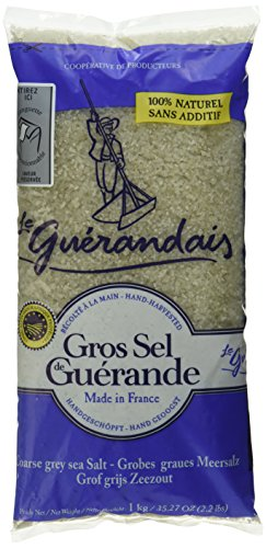 Le Guerandais Meersalz, grob, 2er Pack (2 x 1 kg)