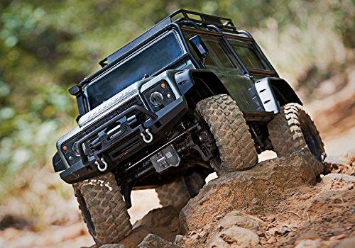 RC Auto kaufen Crawler Bild 2: Traxxas Landrover Defender Brushed RC Modellauto Elektro Crawler Allradantrieb (4WD) RTR 2,4 GHz*