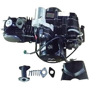 Amazon.com: X-PRO 110cc ATV Engine Motor Semi Auto w/Reverse Electric Start  fit 50cc 70cc 90cc 110cc ATVs and Go Karts Quads 4 wheeler go kart Sandrail  Roketa Taotao Jonway: AutomotiveAmazon.com