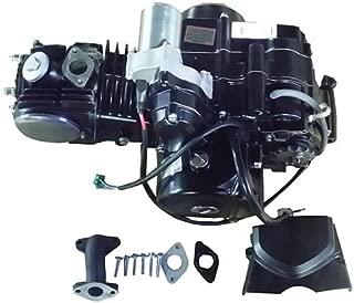 125cc 4-stroke ATV Engine Semi-Auto Transmission w/Reverse, Electric Start for most China made 125cc ATVs & upgrading 50cc-110cc ATVs Roketa Taotao Kazuma Coolster Lance BMS Linhai Tank Lynx etc