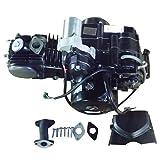 X-PRO 110cc ATV Engine Motor Semi Auto w/Reverse Electric Start fit 50cc 70cc 90cc 110cc ATVs and Go Karts Quads 4 wheeler go kart Sandrail Roketa Taotao Jonway