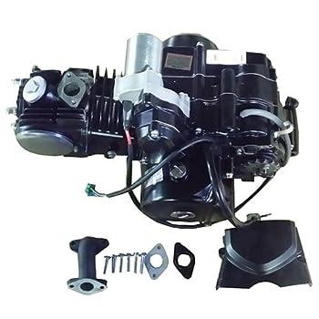 X-PRO 125cc 4-stroke ATV Engine Semi-Auto Transmission with Reverse Electric Start for most China made 125cc ATVs & upgrading 50cc-110cc ATVs