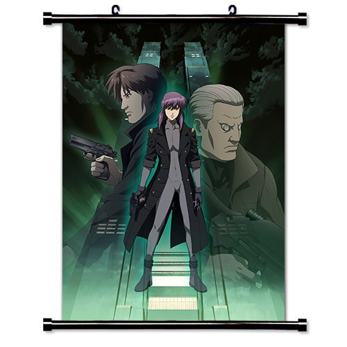 Daaint baby Ghost in The Shell Anime Fabric Wall Scroll Poster (32