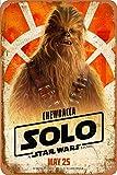Cimily Chewbacca Poster Zinn Retro Zeichen Vintage Poster