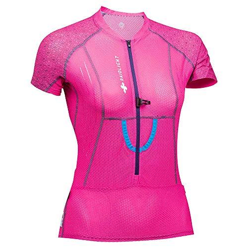 RaidLight T-Shirt Running Femme XP Fit 3D Grenadine/Bordeaux PE 2019