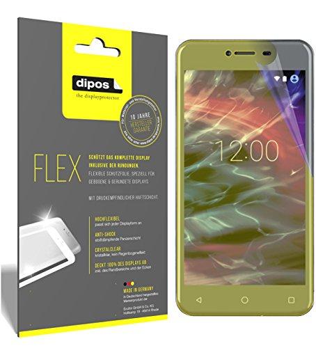 dipos I 3X Schutzfolie 100prozent kompatibel mit Medion Life E5008 Folie (Vollständige Bildschirmabdeckung) Bildschirmschutzfolie