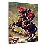 Wandbild Napoleon Bonaparte - 60x80cm hochkant -