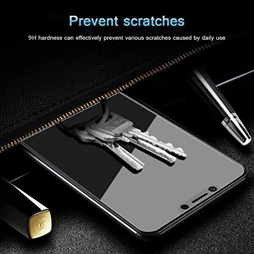 PaceBid [2 Stück] Huawei Honor Play Panzerglas Schutzfolie, Tempered Glass [9H Härte][Anti-Fingerabdruck][Ultra-klar] Panzerglasfolie Displayschutzfolie Für Huawei Honor Play - 5