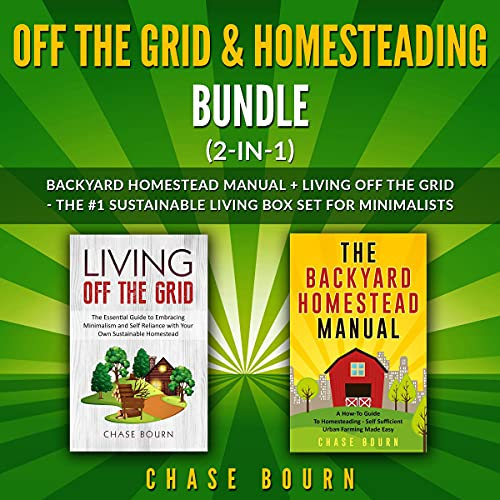 Off the Grid & Homesteading Bundle (2-in-1) cover art