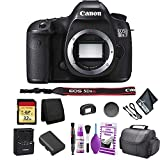 Canon EOS 5DS R DSLR Camera(Body Only) Bundle with 32GB Memory Card + Carrying Case + More - International Version