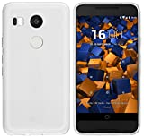 mumbi Coque de protection pour LG Nexus 5X TPU gel silicone transparent blanc