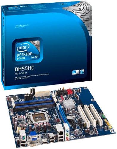 Intel BOXDH55HC Mainboard Sockel LGA1156 ATX DDR3 Speicher