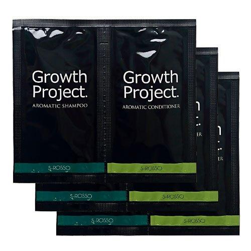 Growth Project. アロマシャンプー&コンディショナートライアルセット