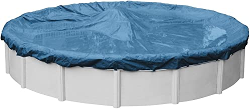 Robelle 3530-4 Super Winter Pool Cover for Round Above Ground Swimming Pools, 30-ft. Round Pool