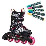 K2 Skates Mädchen Inline Skate Marlee Splash — Black - pink -...