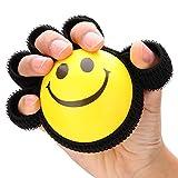 Palla per allenamento di potenza con presa per dito, attrezzatura per il fitness Riabilitazione Esercizio di fitness Palla avvincente Esercitatore per dita Rinforzo per presa per mano Allenatore per p