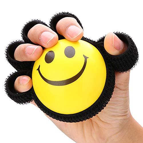 Fingergriff Krafttrainingsball, Fitnessgeräte Rehabilitation Fitnessübung Greifball Fingerübungsgerät Handgriffverstärker Griffkrafttrainer für Senioren, Arthritis, Karpaltunnel