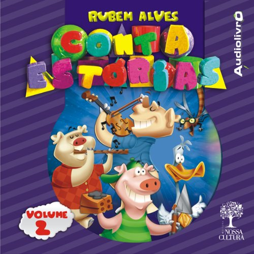 Rubem Alves - Conta estórias - Volume 2 audiobook cover art