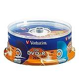 Verbatim Life Series DVD-R Discs, Assorted Colors, Pack of 25