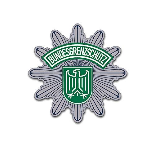 Amuleto de la frontera alemana Aguila Escudo 10 x 10 cm A5378